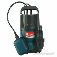 Silverline 400W Clean Water Submersible Pump 9000ltr Per Hour Hot Tub Draining