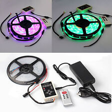 5M 5050 6803 1903 IC RGB 133 Dream color waterproof LED Strip +RF Remote + power