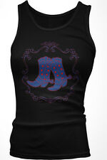 Cowboy Boots - Western Cowboy Cowgirl Spurs Boy Beater Tank Top
