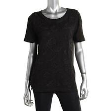 Lucky Brand 2700 Womens Modal Embroidered Scoop Neck Casual Top Shirt BHFO