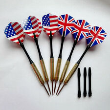 1X Steel Copper Needle Tip Dart Darts With Nice Flight Flights Throwing Toy