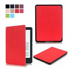 Pu Leather Thin Slim Light Case Cover for Amazon New Kindle 6""