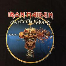 Iron Maiden Can I Play with Madness Heavy Metal Black t-shirt S M L XL 2XL