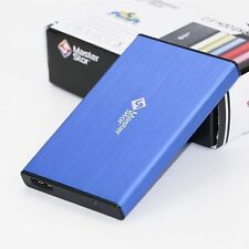 "MasterStor External Hard Drive USB 3.0 Super Fast 2.5"" Laptop SATA HDD Blue"