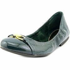 Ralph Lauren Women's Betsy Crinkle Patent Leather Flats