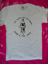 Adam & the Ants whip lady print Punk rock t-shirt 77 seditionaries style S-XXL