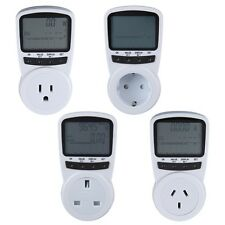 TS-1500 Electronic Energy Meter LCD Energy Monitor Plug-in Electricity Meter EO