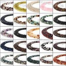Wholesale Natural Loose Gemstone Beads Round Spacer DIY Jewelry 4mm 6mm 8mm 10mm