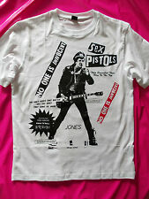 PUNK ROCK steve jones sex pistols t-shirt BOY & seditionaries style repro 77