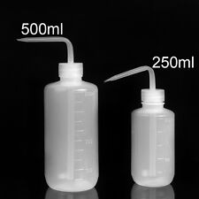 250/500ml 8oz Capacity Tattoo Wash Clear White Plastic Green Soap Squeeze Bottle