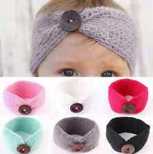 Cute Kids Baby Girls Toddler Turban Hair Band Headwear Knit Headband Accessories