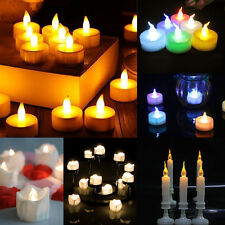 Flameless Candle Flickering LED Tea Light Battery Christmas Wedding Home Candles