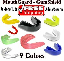 Mouthguard Boil Bite Teeth Protector Boxing MMA Hockey Rugby Karate Gum Shield