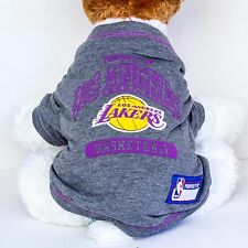 Los Angeles Lakers Dog Shirt NBA Basketball Officially Licensed Pet Product