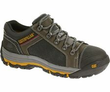 CAT Men's Convex Lo Steel Toe Lace Up Work Shoes Dark Gull Grey P90603