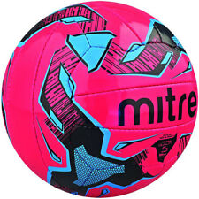 Mitre B3077 Malmo Soccer Sports Match Practice 18 Panel Football Ball Pink