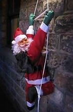 Climbing Santa Rope Ladder OutDoor Xmas Decoration 3ft or 4ft Father Christmas
