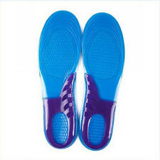 1Pair Silicone Gel Orthotic Arch Support Sport Shoe Massaging Insoles insert Pad