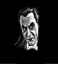 Bela Lugosi Monster Horror Movie Dracula Black T Shirt