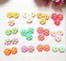 20pcs DIY Phone /Craft Cute Resin Flatback Scrapbooking Flower New Sunflower