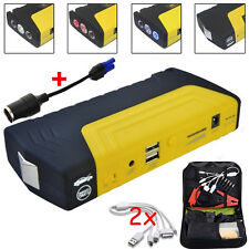68800mAh Car Jump Starter Emergency Charger SOS Booster Motor Power Bank Battery