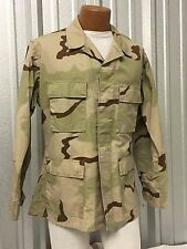 DCU DESERT CAMO COMBAT UNIFORM BDU US MILITARY TACTICAL SHIRT JACKET OIF OEF VGC