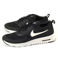 Nike Wmns Air Max Thea Black/Summit White Lifestyle Running Shoes 599409-020
