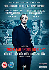 TINKER TAILOR SOLDIER SPY - DVD - Tom Hardy, Gary Oldman, Colin Firth - NEW