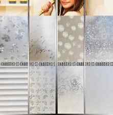 DIY Removable Privacy Frosted Glass Window Film Dandelion Stickers Home Decor