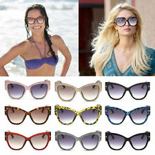 New Stylish Womens Ladies Fashion Vintage Cat-Eye Big Frame Sunglasses TY