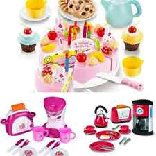Breakfast Set Toy Food Kitchen Cooking Pretend Role Childrens Game Coffee Maker