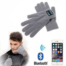 Bluetooth Gloves Touch Screen Glove Mobile Headset Speaker f. iPhone 6 6S 7 Plus