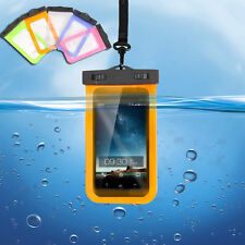 Waterproof Cover Underwater Pouch Dry Bag Case for iPhone Cell Phone Lanyard