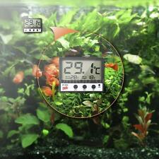 New Digital LCD Fish Tank Aquarium Water Thermometer Temperature High/Low V7A5
