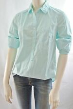 J Crew Women Classic Popover Roll Up Sleeves Shirt Top NwT 00 0 2 4  6