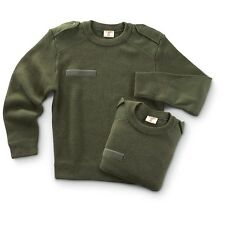 FRENCH COMMANDO CREW NECK SWEATER