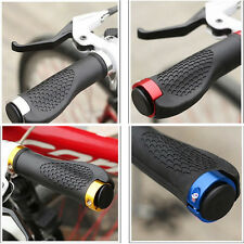 New Rubber MTB Mountain Bike Cycling Bicycle Handlebar Grips Cycling Lock-On EW