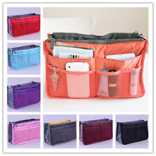 Women's Travel Insert Handbag Organiser Purse Large Liner Organizer Tidy Bag K