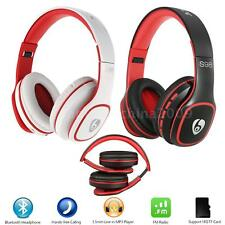 Foldable Wireless Stereo Bluetooth 4.0 Headphone Headset with Mic TF FM MP3 I4W4