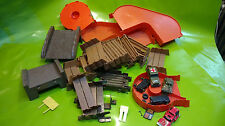 Lot of Schaper Stomper Track Ramps, Bridge Pieces, more