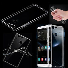 For Huawei Phones Soft  Ultra-Thin Clear Silicone TPU Gel Transparent Case Cover