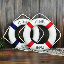 Beach Life Buoy Mediterranean Style Wall Hanging Home Decoration Welcome Crafts