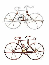 Recycled Wire Bicycle Bike Pin Brooch Fair Trade Silver Copper Bronze Eco Gift
