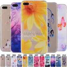 Silicone Gel Rubber Soft TPU Shell Back Cute Case Cover For Apple iPhone 5S 6S 7