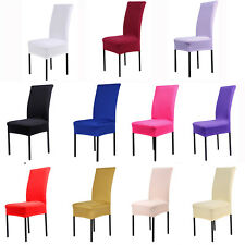 Universal Chair Covers Spandex Strech Restaurant Chair Wedding Party Seat Covers