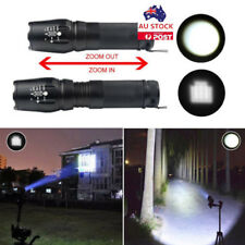 3000LM CREE XM-L T6 LED Zoom Super Bright Handheld Flashlight Home Torch Lamp