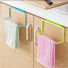Over Door Rack Hanging Towel Bath Holder Bathroom Cupboard Organizer Storage NYZ