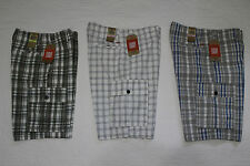 NEW MENS DOCKERS PLAID CARGO SHORTS NWT VARIOUS SIZES & COLORS