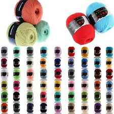 SALE LOT OF 1 Ball X 50g Special Thick Worsted Milk Cotton HAND Knitting Yarn