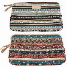 Bohemian Design 12 /14 /15 Inch Canvas Laptop Bag Notebook Sleeve Case Pouch O4